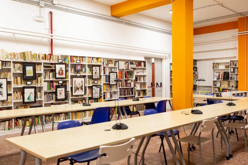 Biblioteca della scuola Enzo Ferrari