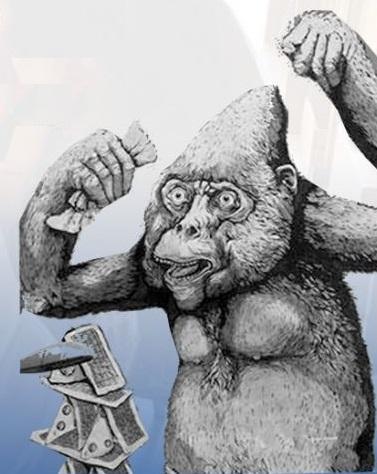 Gorilla del Laurentino 38