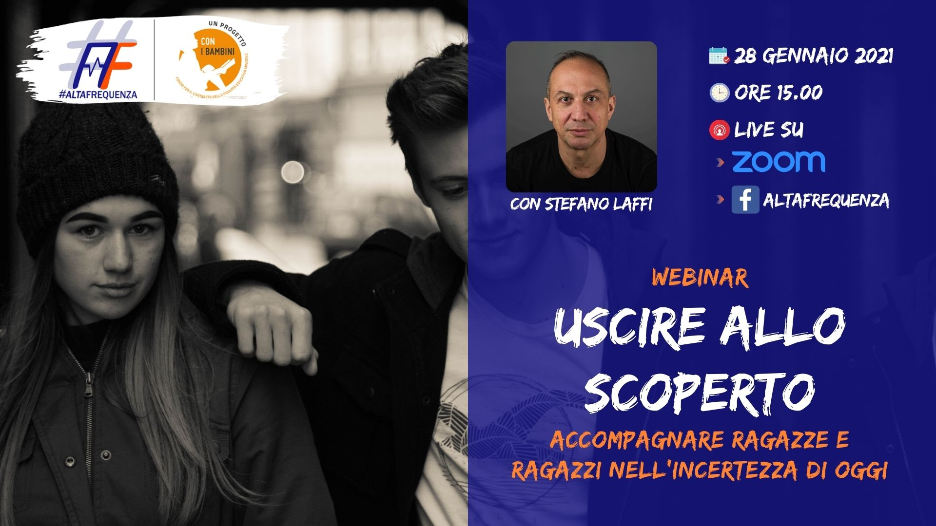 Webinar con Stefano Laffi del 28 gennaio
