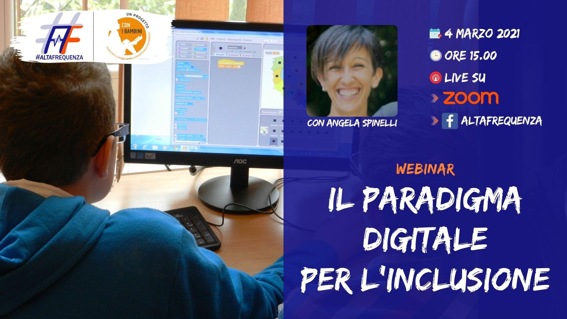 Webinar con Angela Spinelli del 4 marzo