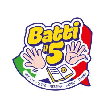 Logo Batti il cinque! Progettualità comunitarie tra Nord e Sud