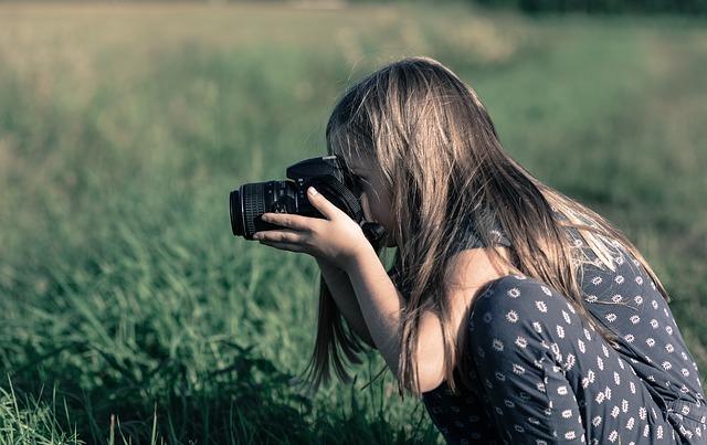 bambina fotografia