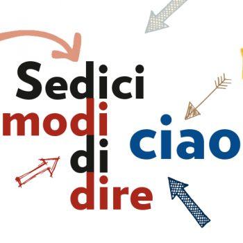 Logo Sedici modi di dire ciao