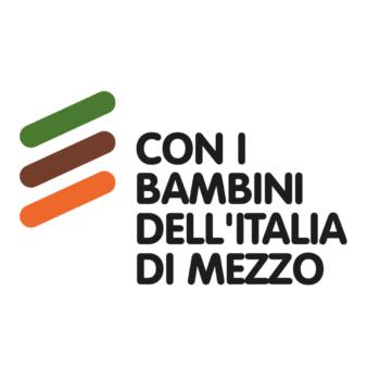 Logo Con i bambini dell'Italia di mezzo