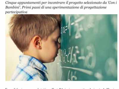 L'articolo on line di Cuneo Dice su Costellazioni