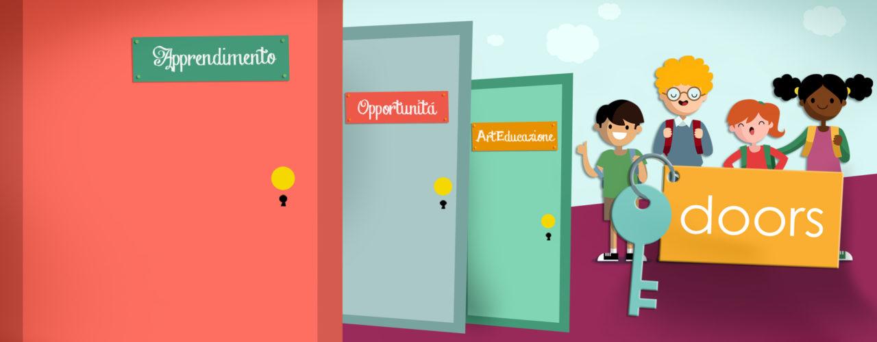 Sfondo DOORS - Porte aperte al desiderio come opportunità di rigenerazione sociale
