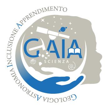 Logo G.A.I.A. Scienza - Geologia, Astronomia, Inclusione, Apprendimento