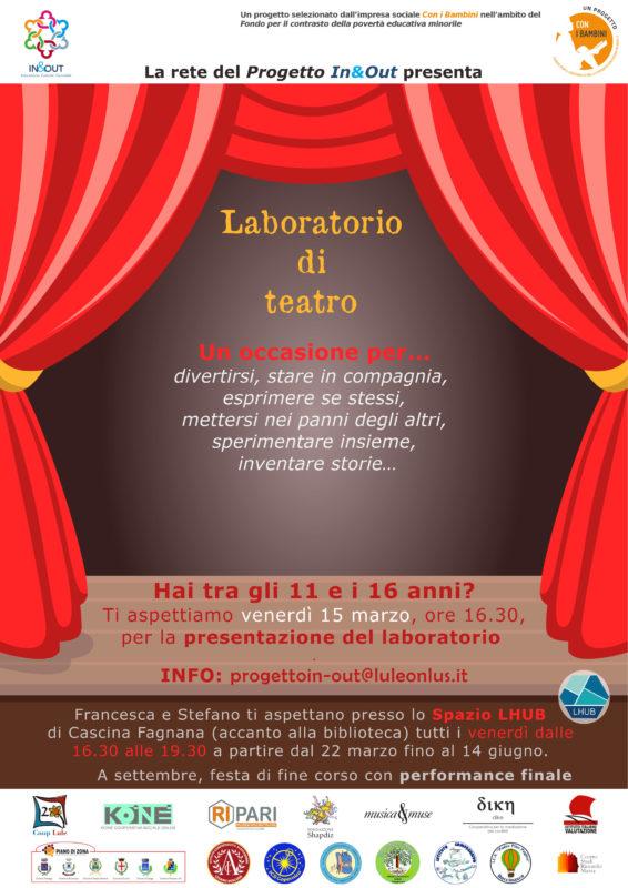 laboratorio teatrale progetto in&out