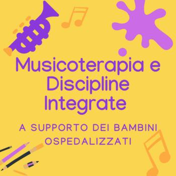 Logo Musicoterapia e discipline integrate al Gaslini, ente capofila Echo Art