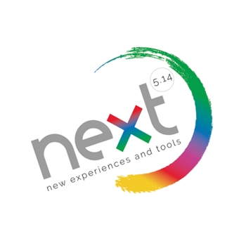 Logo Next 5-14 New EXperiences and Tools