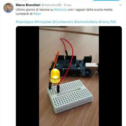 Programmazione di un led con Arduino