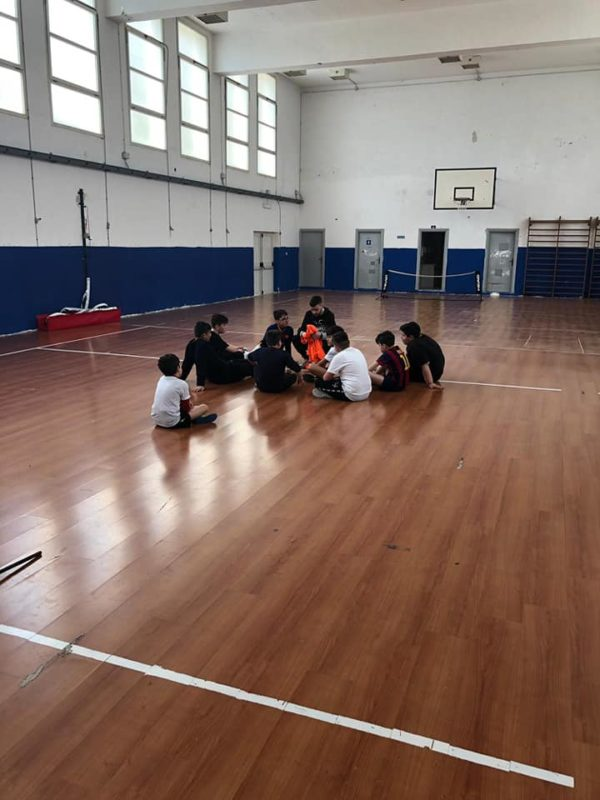 riunione calcio 5 panthakù
