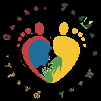 Logo Piedi, cuore, testa e mani