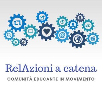 Logo RelAzioni a catena - Comunità educante in movimento